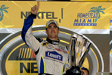 Jimmie Johnson, Nascar Nextel Cup champion