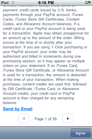 iTunes Store Terms and Conditions Lunacy – Chris M  Lindsey